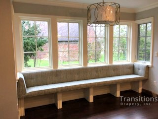 Banquette Upholstered built-in