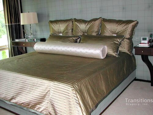 Bedding cover and pillows