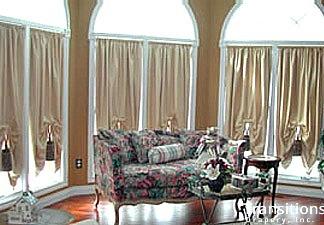 Bow drapes