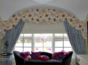 Cornice curved eclectic kids