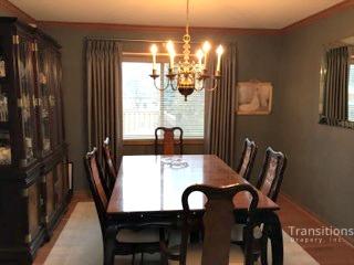 Drapes dining room