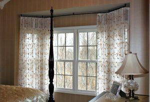 Sheers bedroom