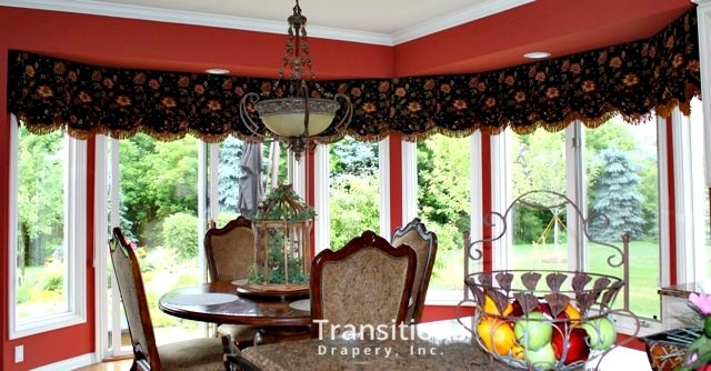 Valances drama and color