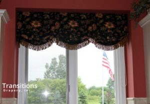Valance drama and color