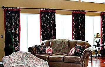Drapes living room