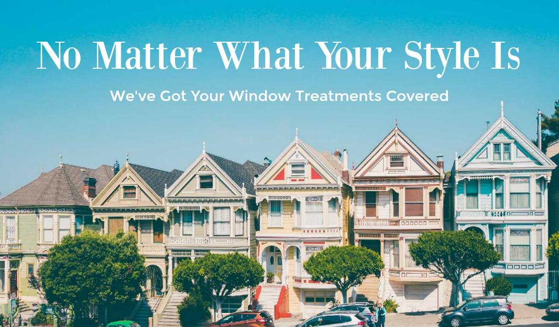 Window treatment styles