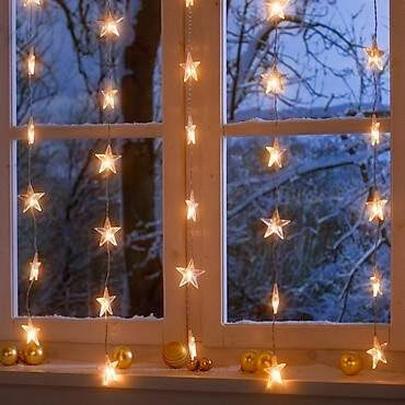 Creative Ways to Use Holiday Lights Indoors - Transitions DraperyTransitionsDrapery
