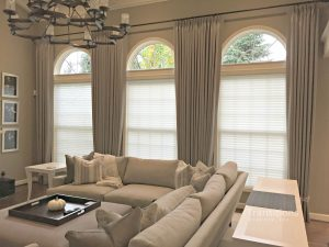 Transitional Family room drapes2
