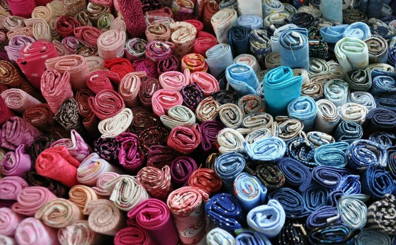 fabric selections