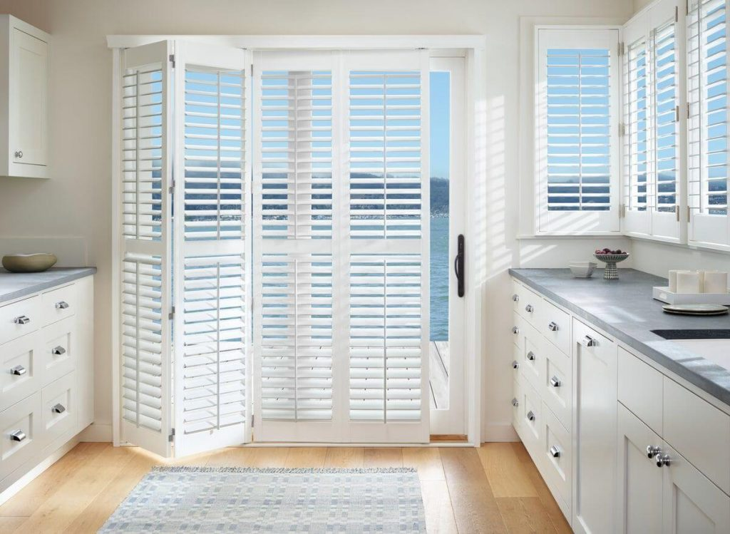 Palm Beach PolySatin Plantation Shutters