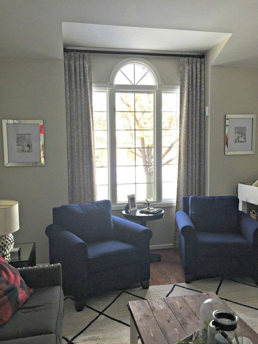 custom made draperies floor to ceiling