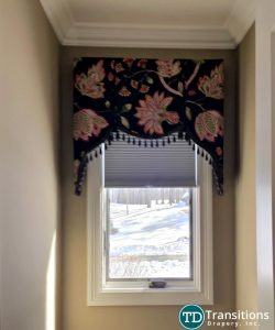 Scalloped valance